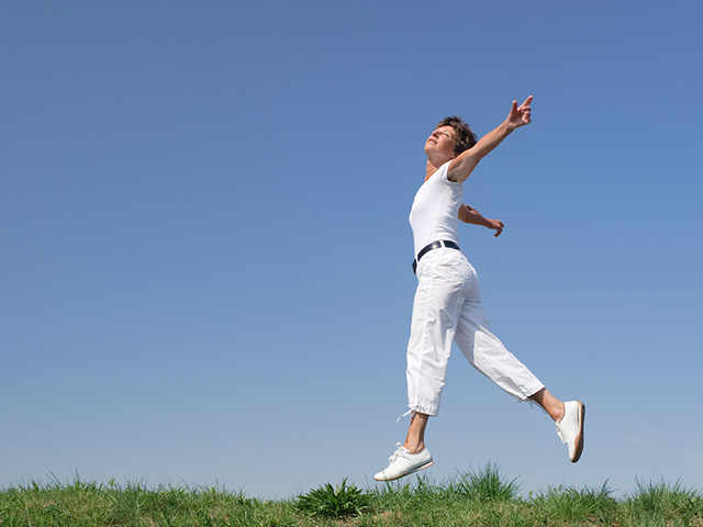 bigstock-Active-senior-woman-is-jumping-26447909